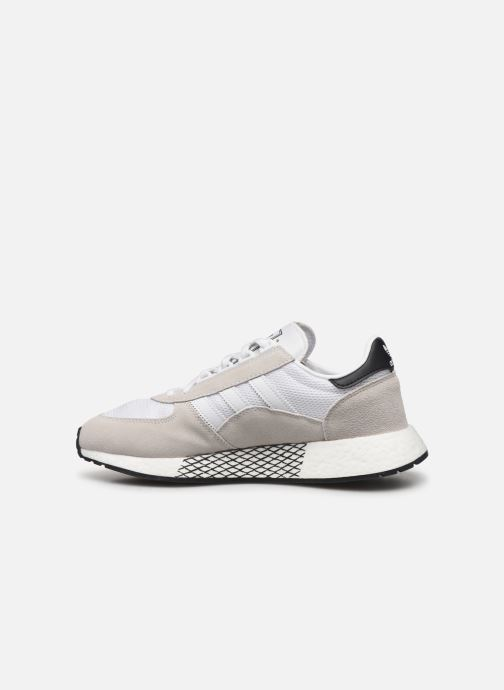 Baskets adidas originals Marathon Tech Blanc vue face