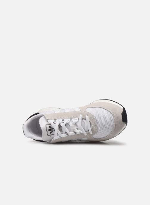 Baskets adidas originals Marathon Tech Blanc vue gauche