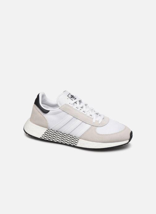 Sneakers adidas originals Marathon Tech Hvid detaljeret billede af skoene