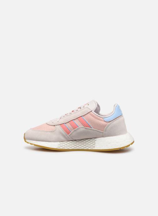 Sneakers adidas originals Marathon Tech W Roze voorkant