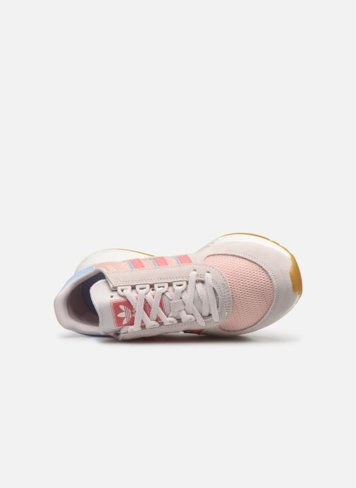 Baskets adidas originals Marathon Tech W Rose vue gauche