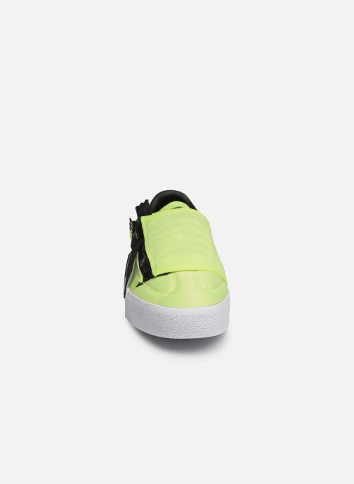 Baskets adidas originals Sambarose Zip W Jaune vue portées chaussures