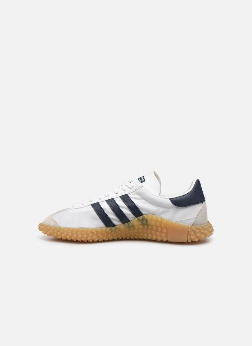 Sneakers adidas originals Countryxkamanda Wit voorkant