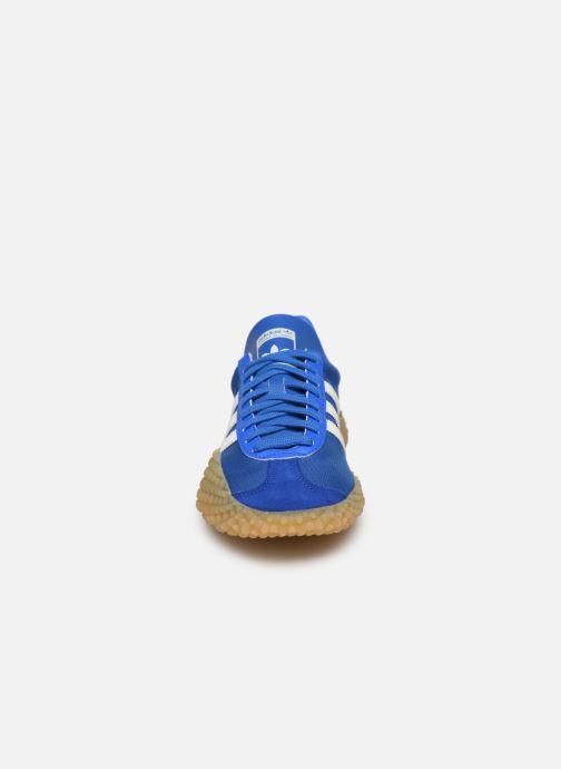 Deportivas adidas originals Countryxkamanda Azul vista del modelo