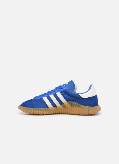Deportivas adidas originals Countryxkamanda Azul vista de frente