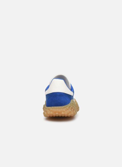 Deportivas adidas originals Countryxkamanda Azul vista lateral derecha