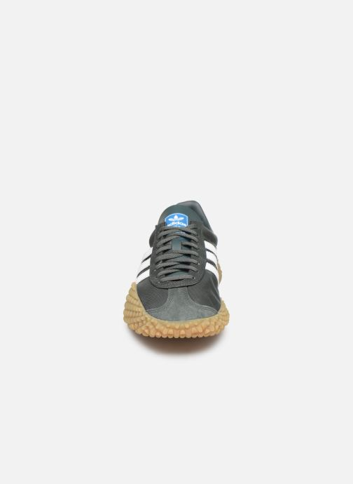 Baskets adidas originals Countryxkamanda Vert vue portées chaussures