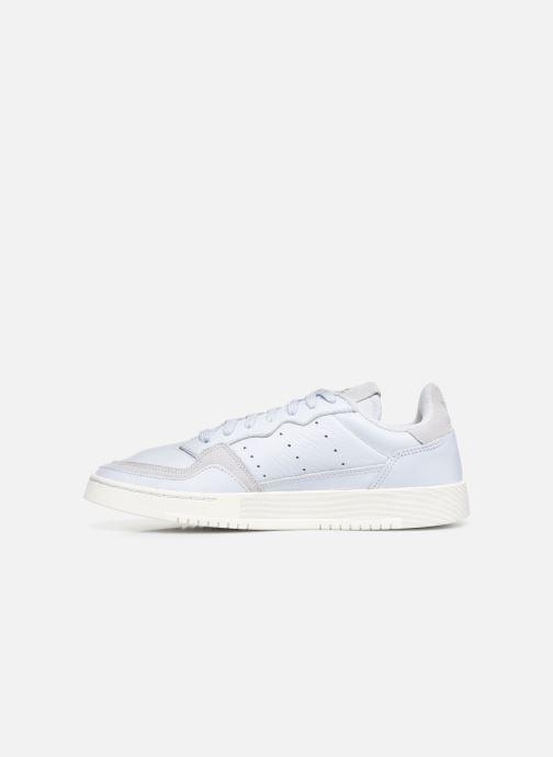 Sneakers adidas originals Supercourt Azzurro immagine frontale