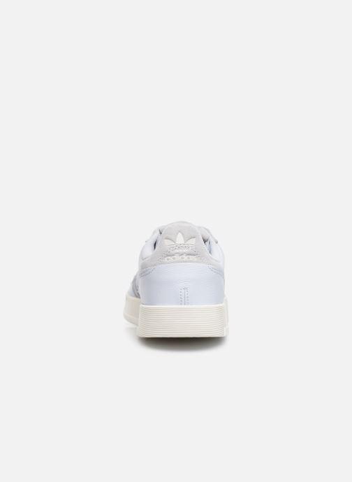 Sneaker adidas originals Supercourt blau ansicht von rechts
