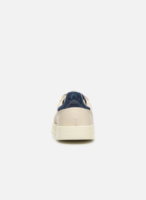 Baskets adidas originals Supercourt Blanc vue droite