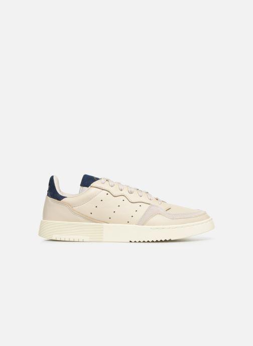 Sneakers adidas originals Supercourt Beige achterkant