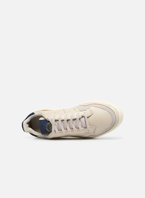 Sneaker adidas originals Supercourt weiß ansicht von links
