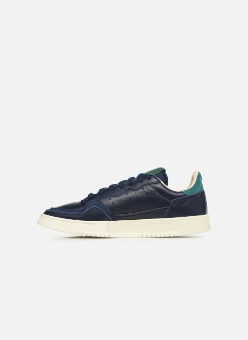 Baskets adidas originals Supercourt Bleu vue face