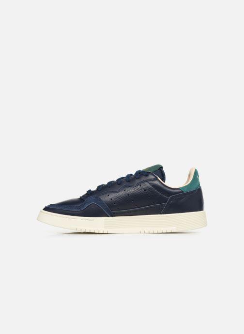 Sneaker adidas originals Supercourt blau ansicht von vorne
