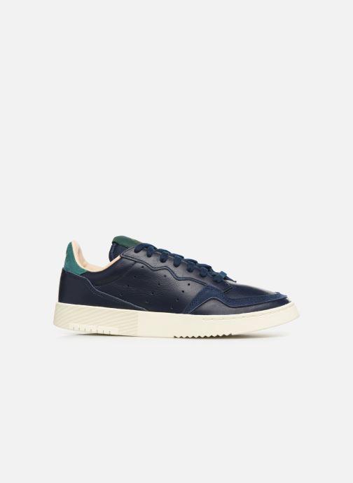 Sneaker adidas originals Supercourt blau ansicht von hinten