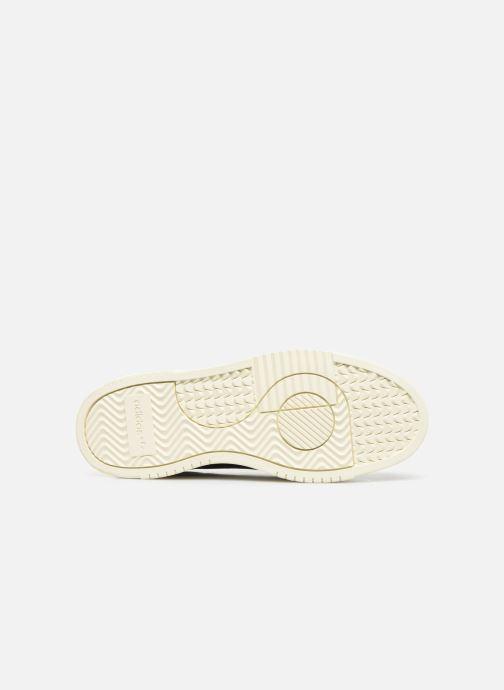 Sneaker adidas originals Supercourt blau ansicht von oben