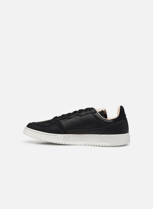 Baskets adidas originals Supercourt Noir vue face
