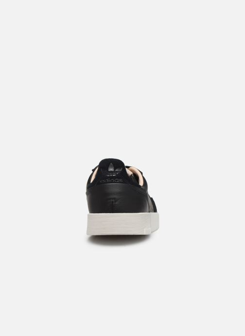 Trainers adidas originals Supercourt Black view from the right