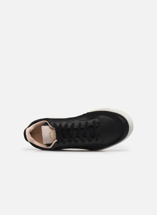 Trainers adidas originals Supercourt Black view from the left