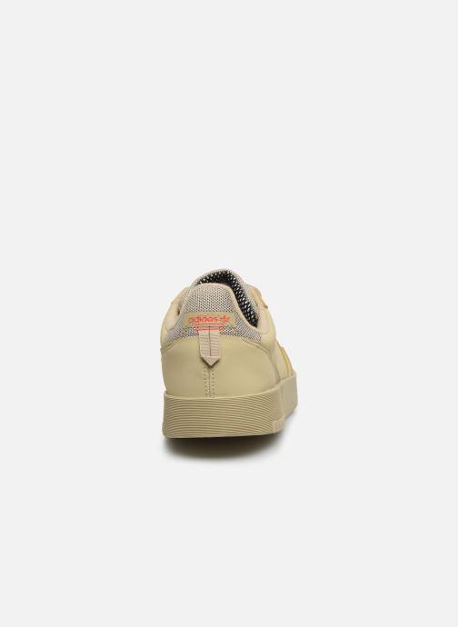 Baskets adidas originals Supercourt Beige vue droite