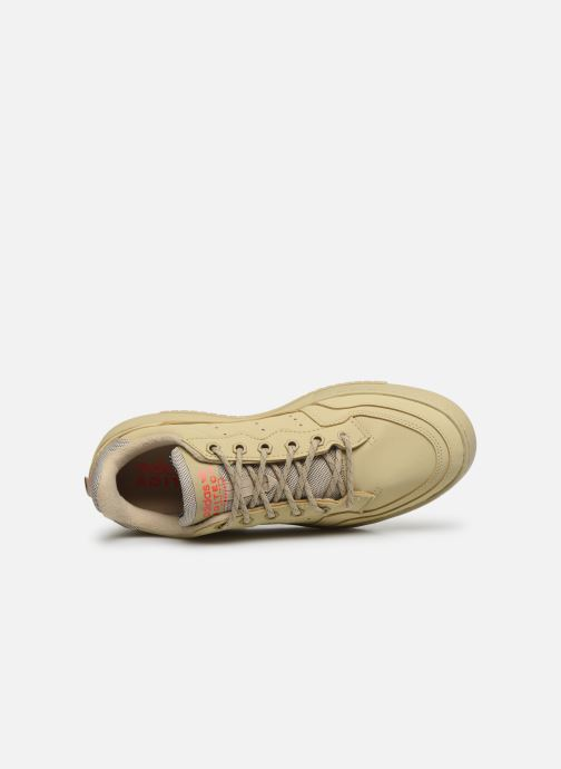 Trainers adidas originals Supercourt Beige view from the left