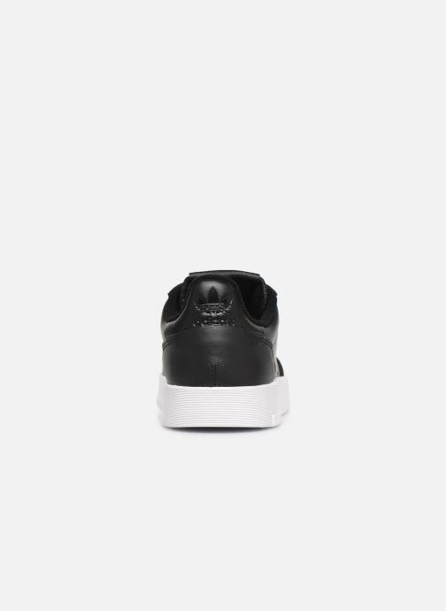 Baskets adidas originals Supercourt Noir vue droite