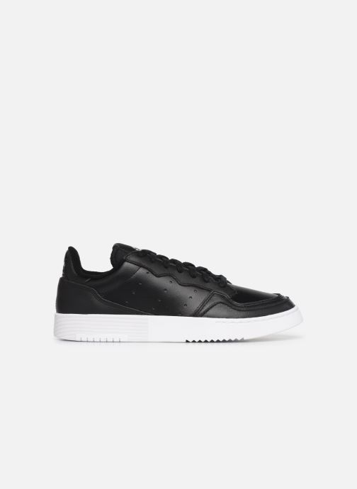 Baskets adidas originals Supercourt Noir vue derrière