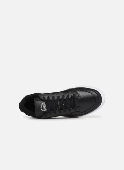 Baskets adidas originals Supercourt Noir vue gauche