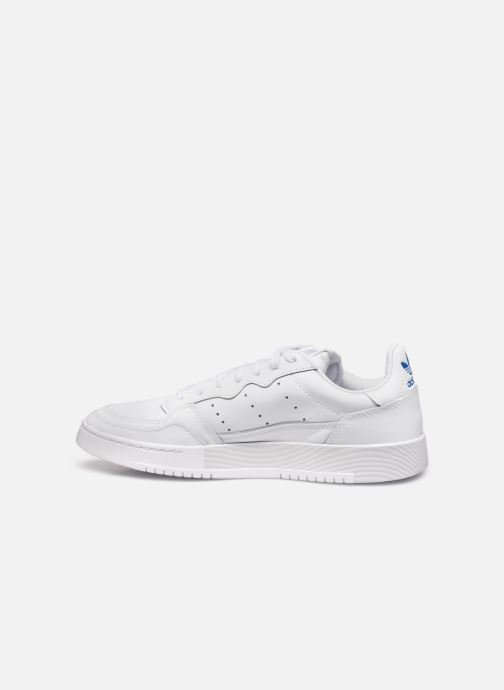 Sneakers adidas originals Supercourt Bianco immagine frontale