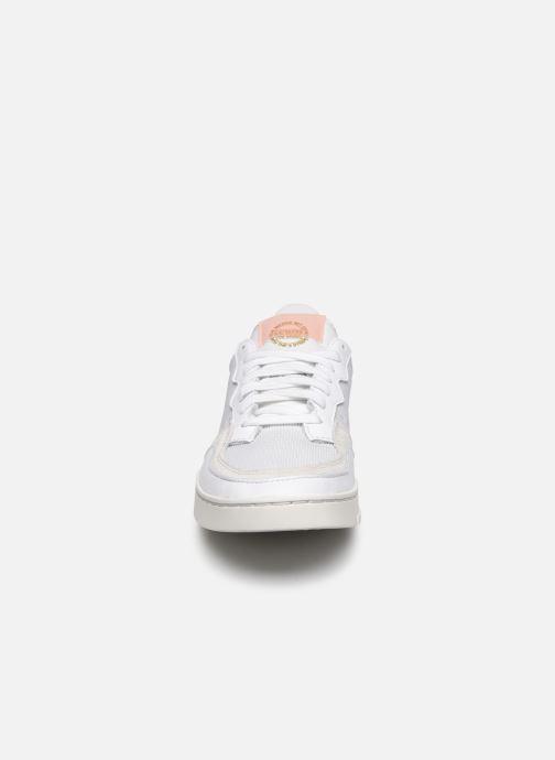 Sneaker adidas originals Supercourt weiß schuhe getragen