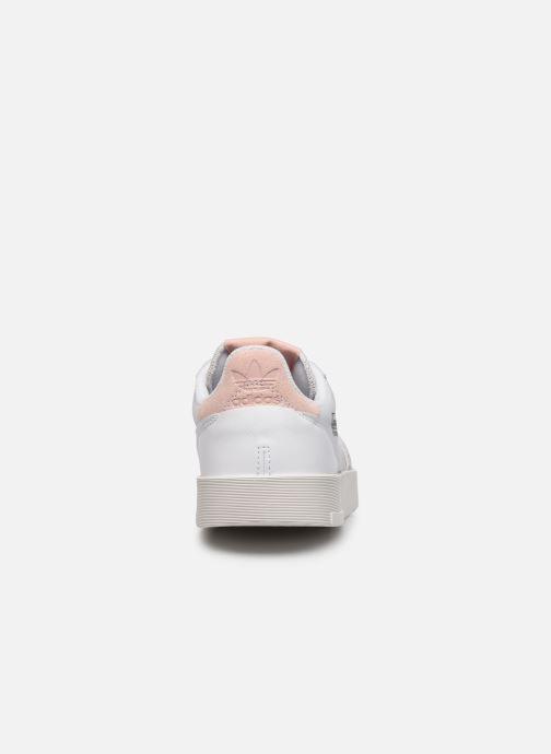Sneaker adidas originals Supercourt weiß ansicht von rechts