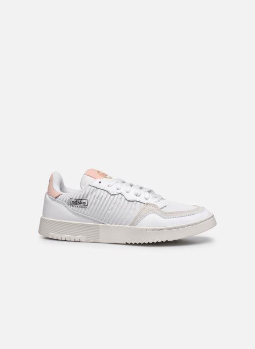 Sneaker adidas originals Supercourt weiß ansicht von hinten