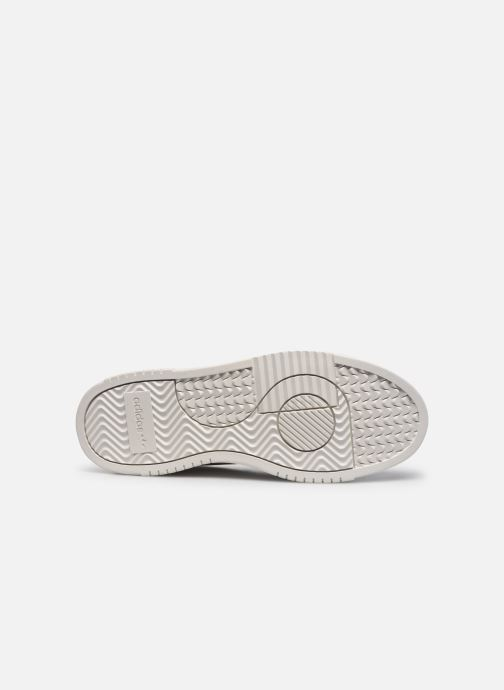 Sneaker adidas originals Supercourt weiß ansicht von oben