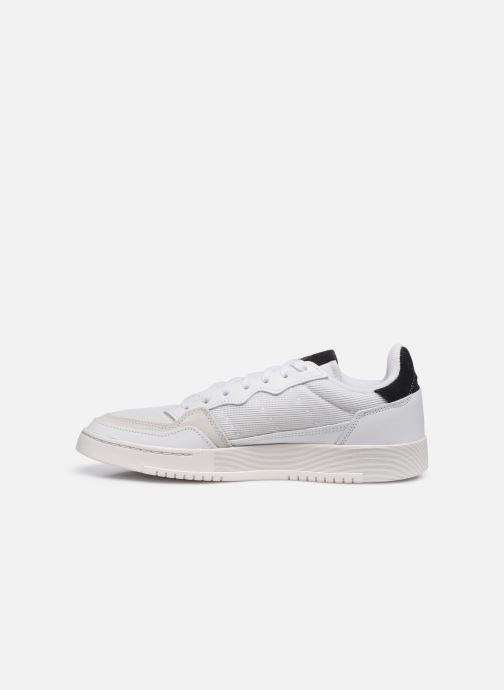 Sneakers adidas originals Supercourt Bianco immagine frontale