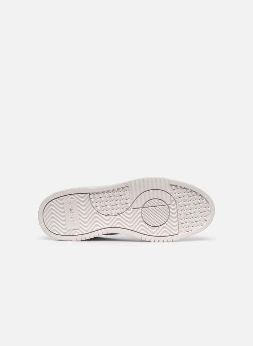Sneakers adidas originals Supercourt Bianco immagine dall'alto