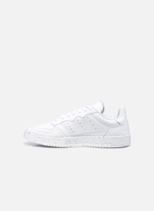 Sneaker adidas originals Supercourt weiß ansicht von vorne