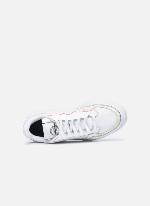 Sneaker adidas originals Supercourt weiß ansicht von links