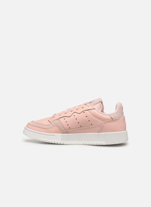 Sneakers adidas originals Supercourt W Rosa immagine frontale