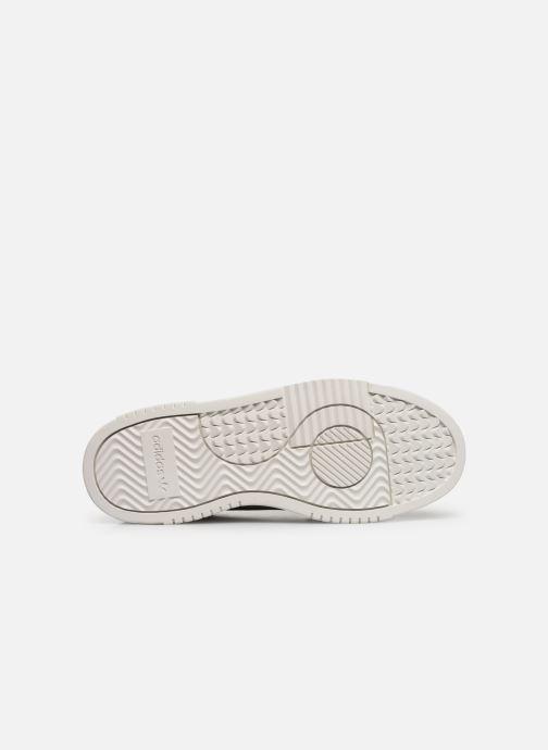 Sneakers adidas originals Supercourt W Grigio immagine dall'alto