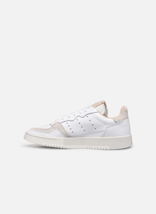 Sneakers adidas originals Supercourt W Wit voorkant