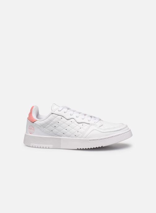 Sneakers adidas originals Supercourt W Wit achterkant