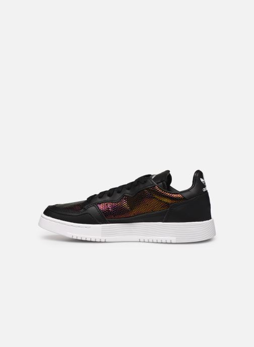 Sneakers adidas originals Supercourt W Nero immagine frontale