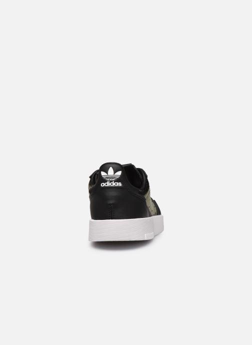 Sneakers adidas originals Supercourt W Nero immagine destra