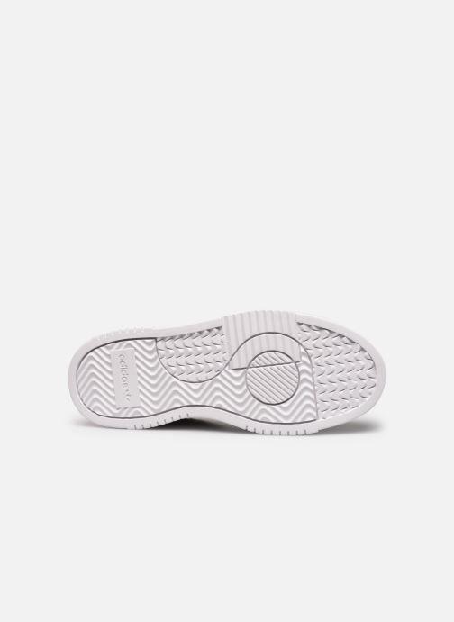 Sneakers adidas originals Supercourt W Nero immagine dall'alto