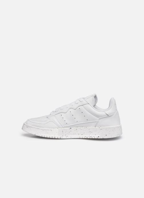 Sneaker adidas originals Supercourt W weiß ansicht von vorne