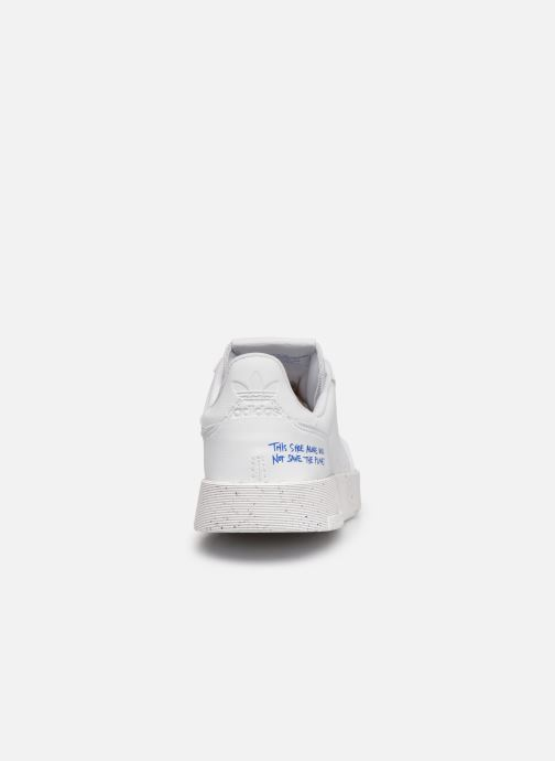 Sneaker adidas originals Supercourt W weiß ansicht von rechts