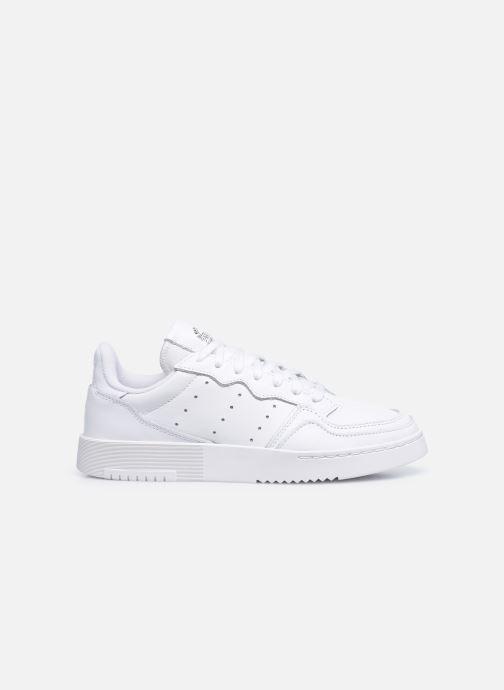 Baskets adidas originals Supercourt W Blanc vue derrière