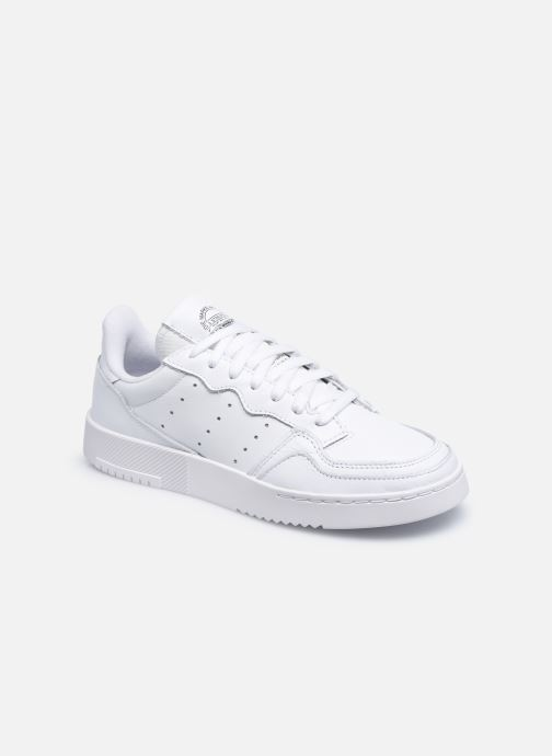 Baskets adidas originals Supercourt W Blanc vue détail/paire