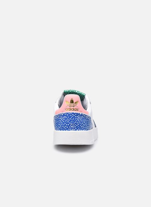 Baskets adidas originals Supercourt W Blanc vue droite
