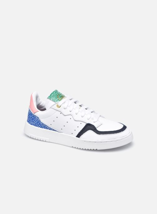 Baskets adidas originals Supercourt W Blanc vue détail/paire